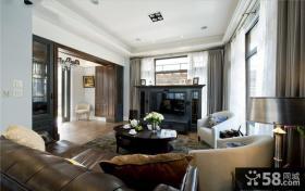 美式家居别墅室内设计效果图片
