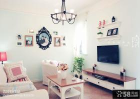 小客厅电视背景墙效果图片大全