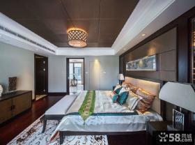 新中式卧室装修效果图大全2013