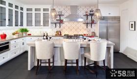 80后小夫妻北欧婚房厨房装修效果图大全2012图片