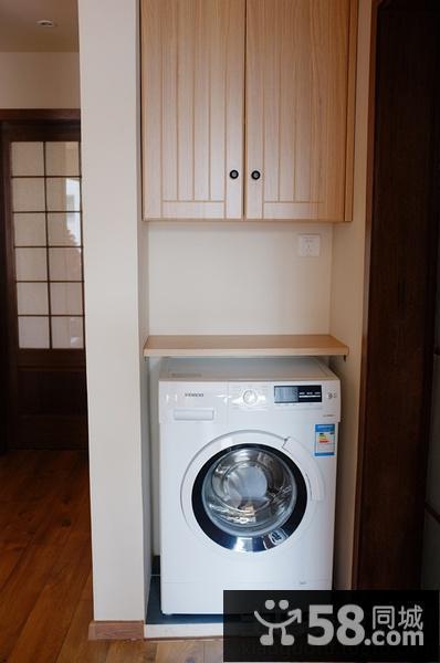 阳台洗衣机效果图