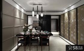 典雅新中式家居餐厅设计