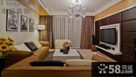 现代风格家居装修客厅装潢设计