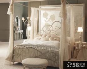 欧式风格卧室装饰装潢设计效果图