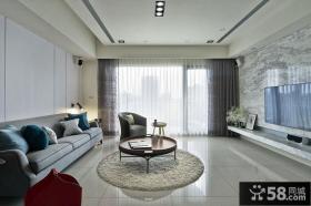 大气现代客厅效果图