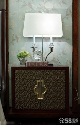 现代风格玄关鞋柜装饰图片