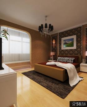 欧式主卧室图片