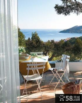 别墅装修图片大全 休闲宜人的阳台装修效果图