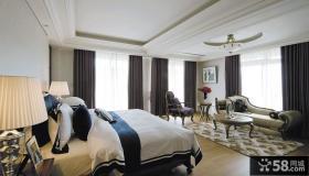 新古典家装豪华时尚卧室装修效果图2014图片