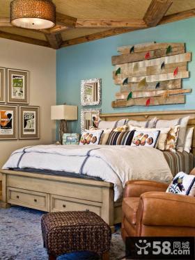 复古欧式风格装修卧室床图片欣赏