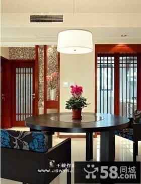 中式风格餐厅吊灯图片