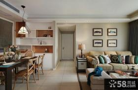 美式客厅家具摆放效果图欣赏