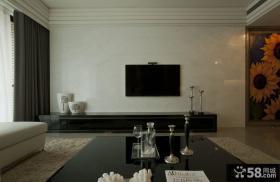 最简单装修客厅电视背景墙图片