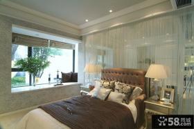 欧式家装卧室飘窗设计