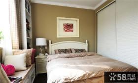 简欧风格小户型卧室设计效果图