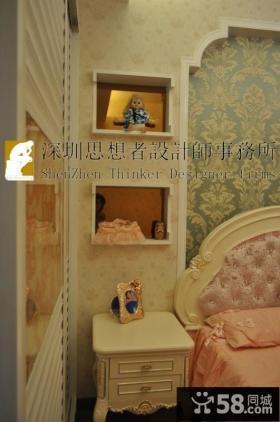 欧式风格卧室装饰品图片