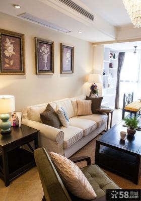 美式混搭家居客厅装修展示