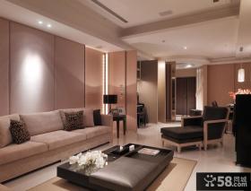 现代美式家装设计客厅图欣赏