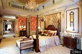 豪华别墅主卧室装修效果图片