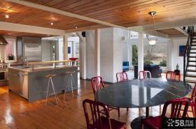 楼房厨房餐厅装修图片