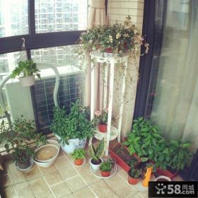 家庭风格阳台效果图欣赏