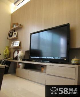 现代家装室内电视背景墙图