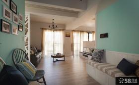 美式风格复式室内家装设计效果图