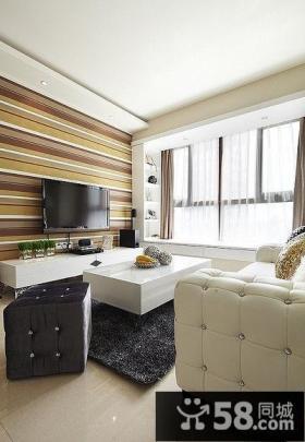 美式简约风格装修客厅设计
