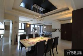 现代室内设计餐厅吊顶图大全