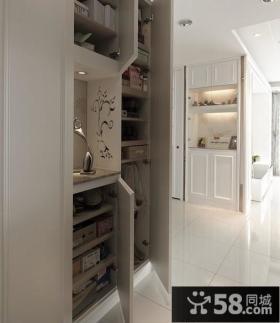 玄关鞋柜装修效果图大全2013图片