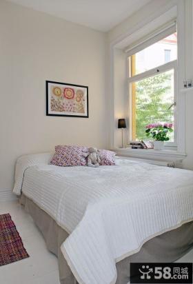 三室两厅简欧风格小卧室装修效果图大全2014图片