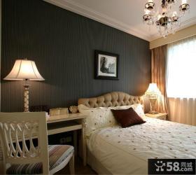 简单卧室装修时尚台灯图片欣赏