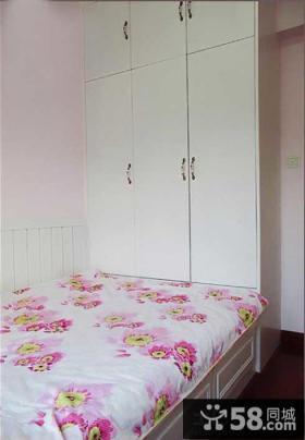 极简风格卧室三门衣柜设计图
