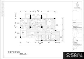 复式楼二楼平面设计图