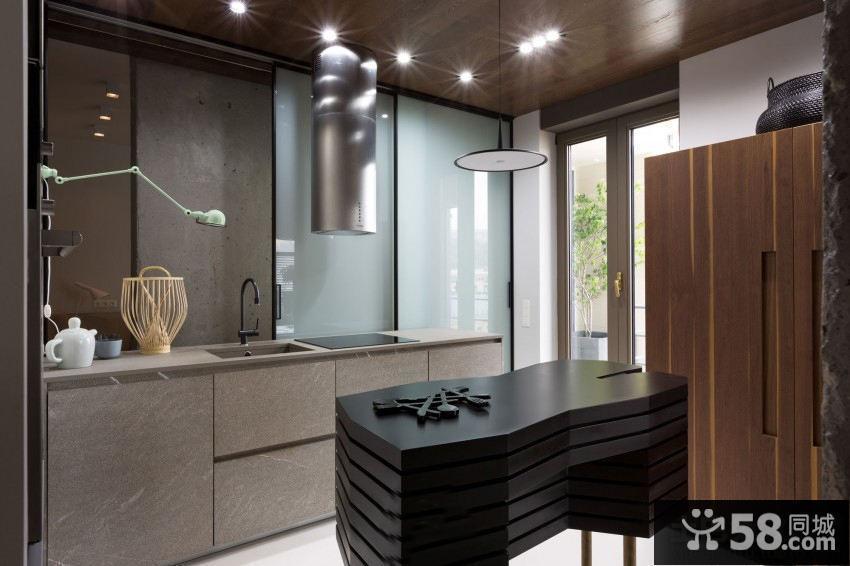 家庭小厨房设计装修图片欣赏2014