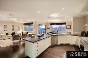 简欧式厨房装修图片