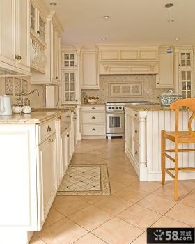 别墅欧式厨房装修效果图大全2013图片