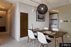 简约风格小户型餐厅装修设计