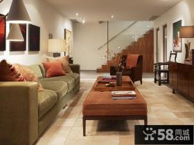 27万打造奢华欧式风格复式客厅装修效果图大全2012图片