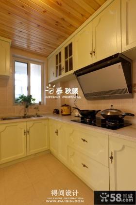 L型厨房橱柜效果图