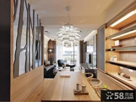 现代别墅室内餐厅装饰设计图片