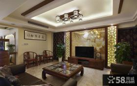 古典中式客厅装饰设计
