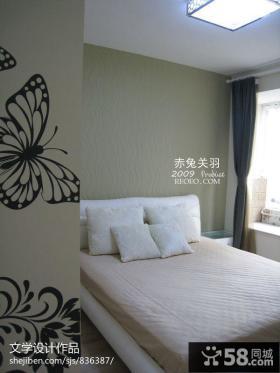 小户型简约卧室效果图