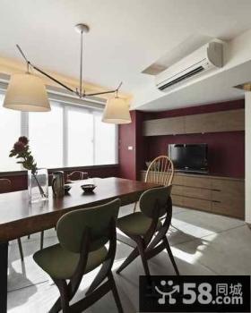 小户型中式餐厅装修效果图大全2012图片