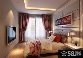 欧式二居主卧室装修效果图大全2013图片