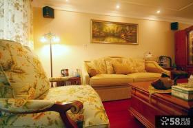 美式客厅装饰画效果图大全