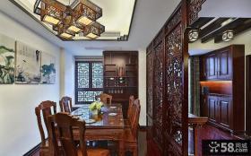 古典中式风格餐厅装修效果图