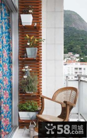 4平米现代创意阳台设计