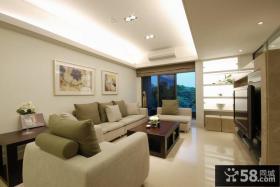 现代客厅装修展示案例