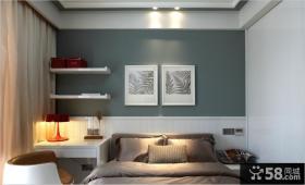 现代家居风格卧室装饰画效果图片欣赏